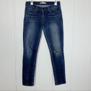 Levi's 524 Too Superlow W28 L32 Skinny Denim Jeans